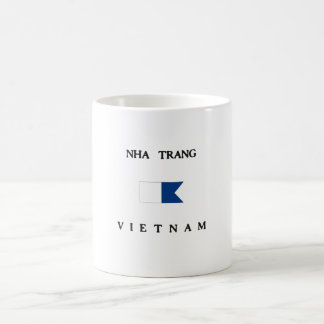 Nha Trang Vietnam Alpha Dive Flag Coffee Mugs
