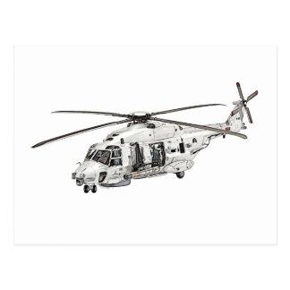 NHIndustries NH90 Helicopter Postcard