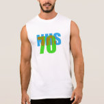 NHS70 graphic Sleeveless Shirt