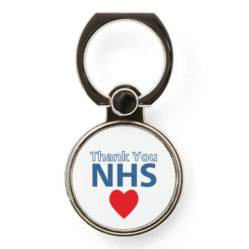 NHS TY Love Heart Phone Case Ring Holder