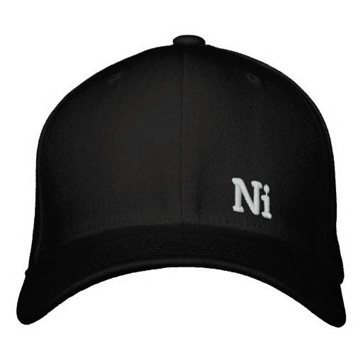 Ni Embroidered Baseball Cap