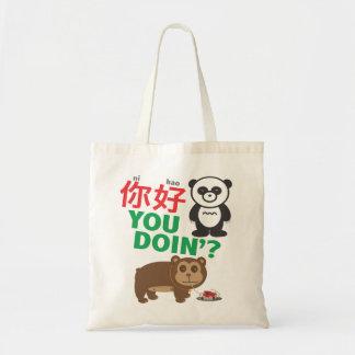 Ni Hao You Doin'? Tote Bag