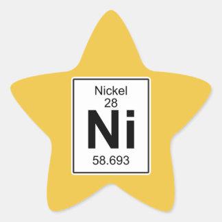 Ni - Nickel Star Sticker
