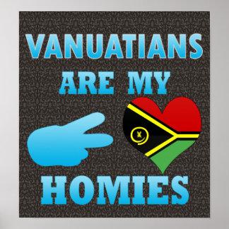 Ni Vanuatus are my Homies Poster