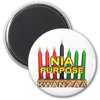 Nia 2 Inch Round Magnet