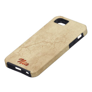 NIA Name Branded iPhone 5 Case