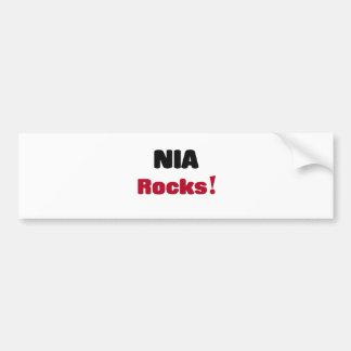 Nia Rocks Bumper Sticker