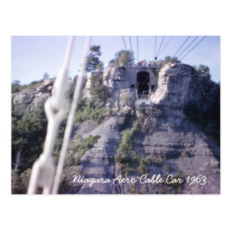 Niagara Aero Cable Car Postcard