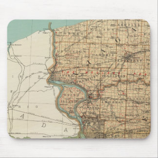 Niagara and Erie counties Mouse Pad