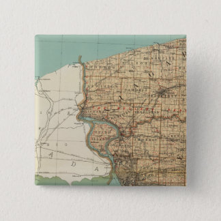 Niagara and Erie counties Pinback Button