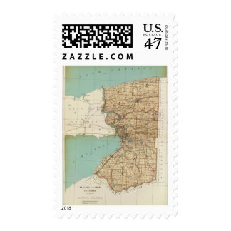 Niagara and Erie counties Postage