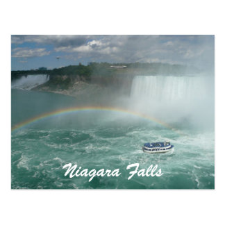 niagara boat postcard
