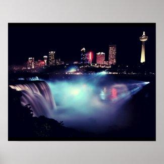 Niagara by Night : June print