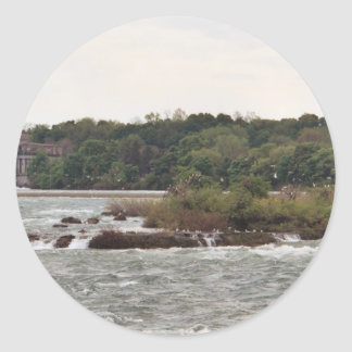 Niagara Classic Round Sticker