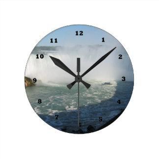 NIAGARA CNTower Canada Toronto Round Clock