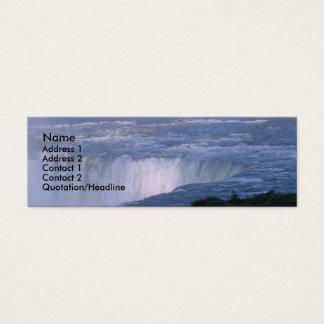 Niagara Fallls Mini Business Card