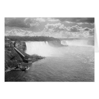 Niagara Falls, 1905 Greeting Card