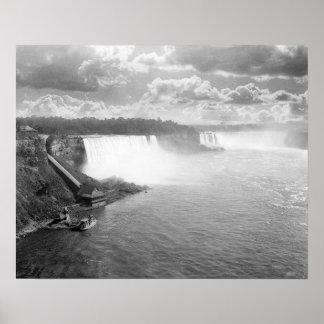 Niagara Falls, 1905 Posters