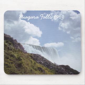 Niagara Falls 1963 From Below Mousepad