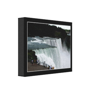 Niagara Falls #1 Wrapped Canvas Stretched Canvas Prints