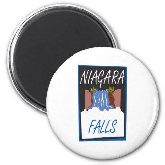 Niagara Falls 2 Inch Round Magnet