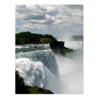 Niagara Falls: American & Canadian Horseshoe Falls Postcard