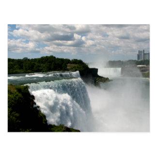 Niagara Falls: American & Canadian Horseshoe Falls Post Card