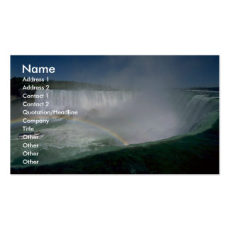 Niagara Falls and Maid of the Mist, New York, USA Business Cards