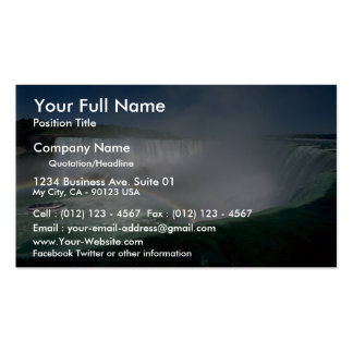 Niagara Falls and Maid of the Mist, New York, USA Business Card