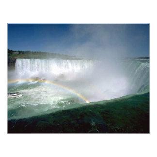 Niagara Falls and Maid of the Mist, New York, USA Flyer Design