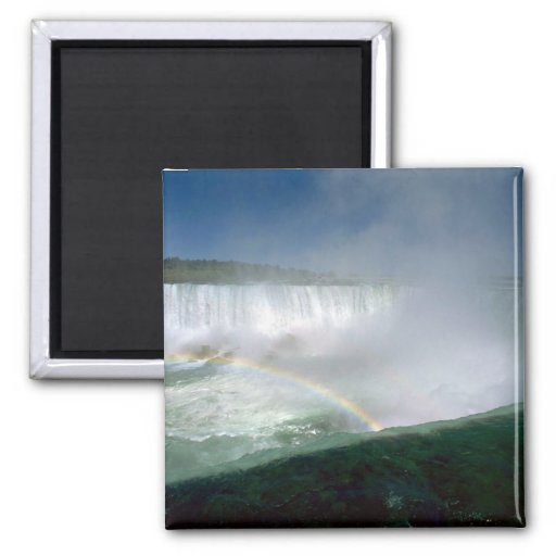 Niagara Falls and Maid of the Mist, New York, USA Fridge Magnet