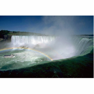 Niagara Falls and Maid of the Mist, New York, USA Cut Out
