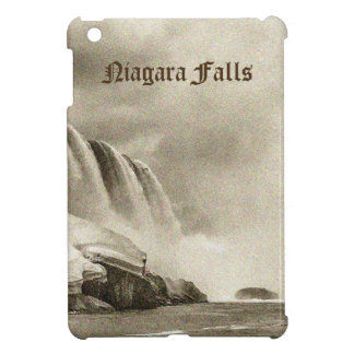Niagara Falls Antique Sepia iPad Case