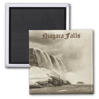 Niagara Falls Antique Sepia Magnet