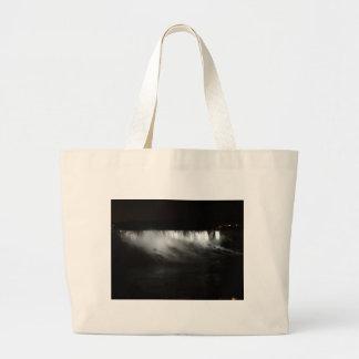Niagara Falls At Night Large Tote Bag