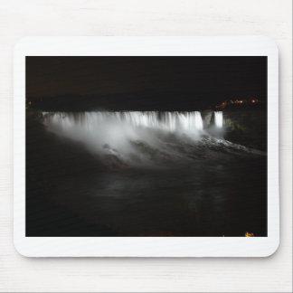 Niagara Falls At Night Mouse Pad