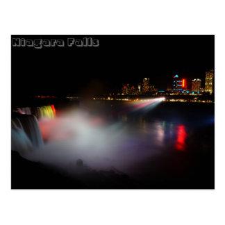 Niagara Falls At Night Postcards