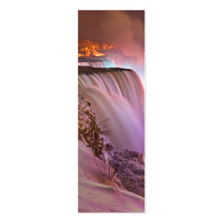 Niagara Falls at Winter from Prospect Point Mini Business Card