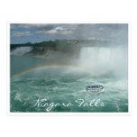 niagara falls boat postcard