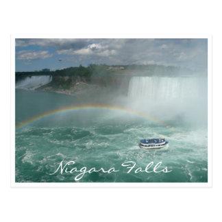 niagara falls boat post cards