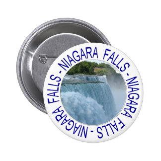 Niagara Falls Button