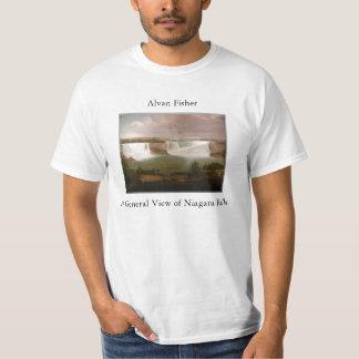 Niagara Falls by Fisher Mens T Shirt