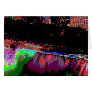 Niagara Falls by Night Card