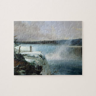 Niagara Falls, c.1837-40 (aceite en lona) Rompecabezas Con Fotos