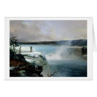 Niagara Falls, c.1837-40 (oil on canvas) Card