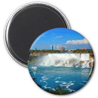 Niagara falls, Canada 2 Inch Round Magnet
