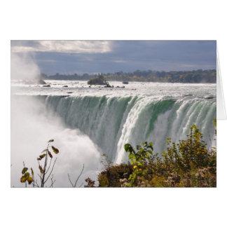 Niagara Falls Canadá Tarjeta De Felicitación