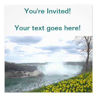 Niagara Falls Canadian Side Personalized Announcements