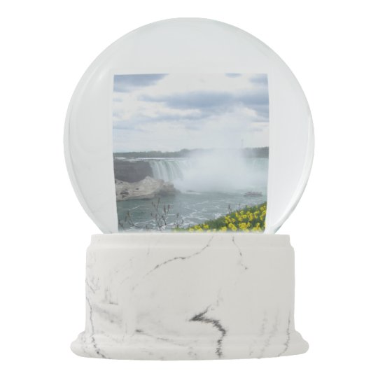 Niagara Falls Canadian Side Snow Globe Zazzle
