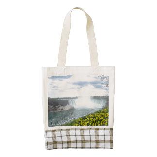 Niagara Falls Canadian Side Zazzle HEART Tote Bag